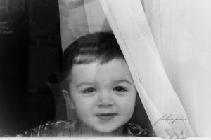 Baby Portrait Black & White