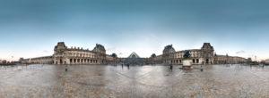 The Louvre Panoramic Paris