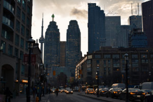 Toronto City Sunset